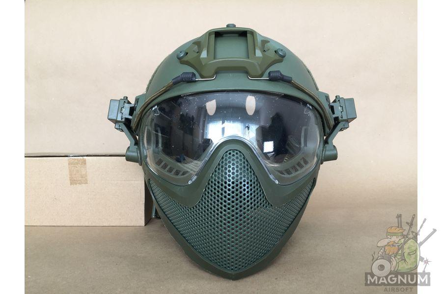 IMG 7192 - Страйкбольный шлем AS-HM0130OD