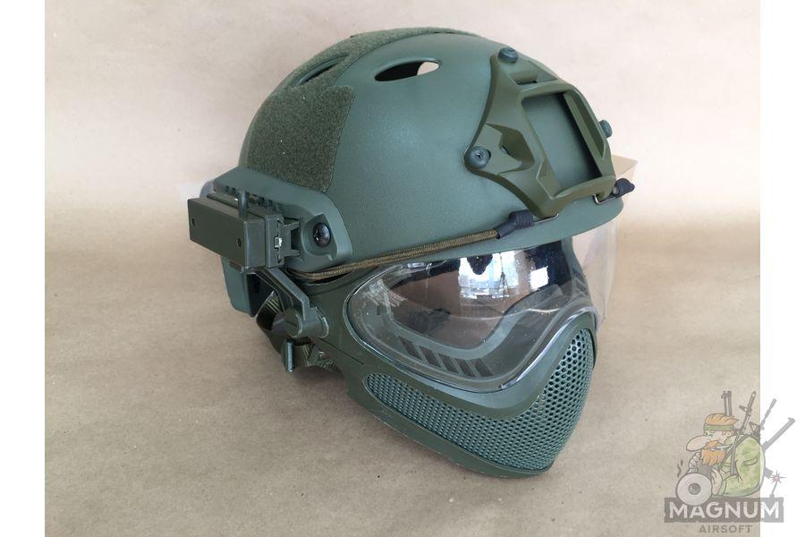 IMG 7193 - Страйкбольный шлем AS-HM0130OD