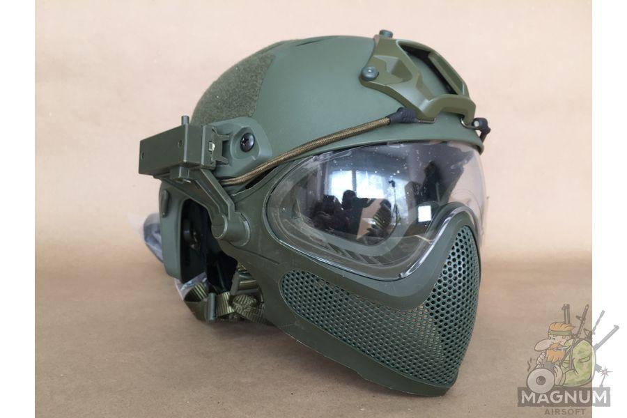 IMG 7194 - Страйкбольный шлем AS-HM0130OD