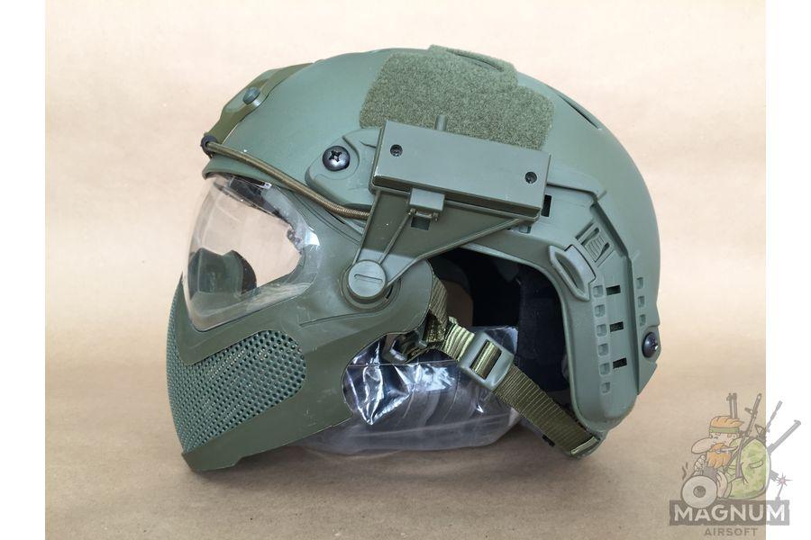 IMG 7204 - Страйкбольный шлем AS-HM0130OD
