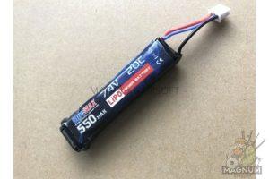 AKB BlueMAX 7.4V Lipo 550mAh AEP 300x200 - АКБ BlueMAX 7.4V Lipo 550mAh AEP (для электропистолетов)