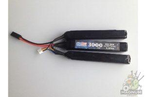 Akkumulyator BlueMAX 11.1V Lipo 3000mAh 20C triple 3x 300x200 - Аккумулятор BlueMAX 11.1V Lipo 3000mAh 20C triple 3x (17.6x25x128)