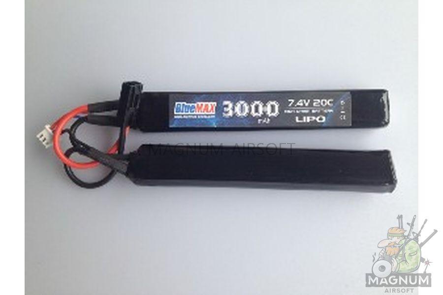Akkumulyator BlueMAX 7.4V Lipo 1450mAh 30C nunchuck 2x 7.5x17x115 - Аккумулятор BlueMAX 7.4V Lipo 1450mAh 30C nunchuck 2x (7.5x17x115)