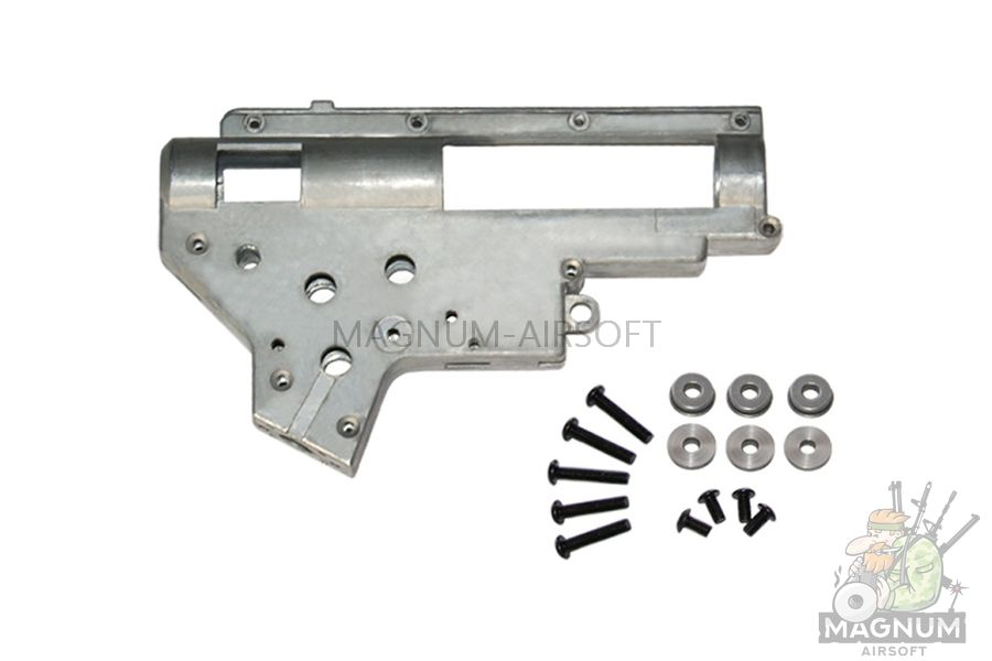 BX0030 upgrade 1 - ГИРБОКС (корпус) ver.2 Gearbox (8mm) zinc alloy SHS B067A (BX0030 upgrade)