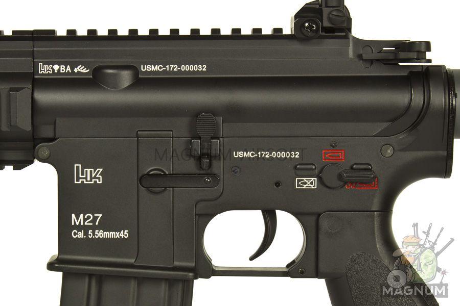 EC 103 Black 3 - Страйкбольный автомат (East Crane) M27 11 INCH EC-103 Black