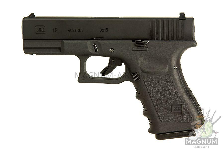 EC 1301 2 - Страйкбольный пистолет (East Crane) Glock-19 gen.3 EC-1301