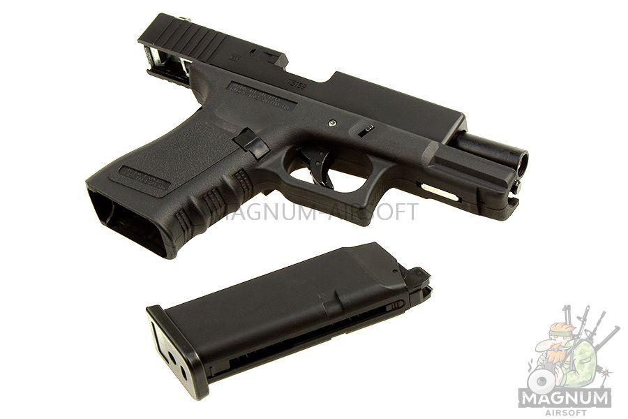 EC 1301 3 - Страйкбольный пистолет (East Crane) Glock-19 gen.3 EC-1301