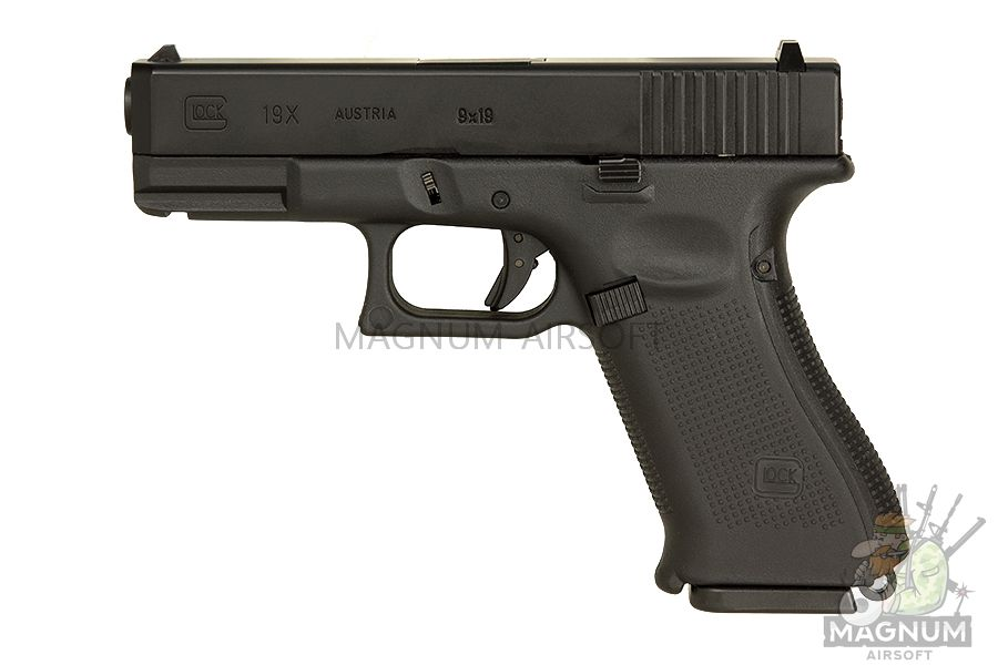 EC 1302 2 - Страйкбольный пистолет (East Crane) Glock-19X Black EC-1302