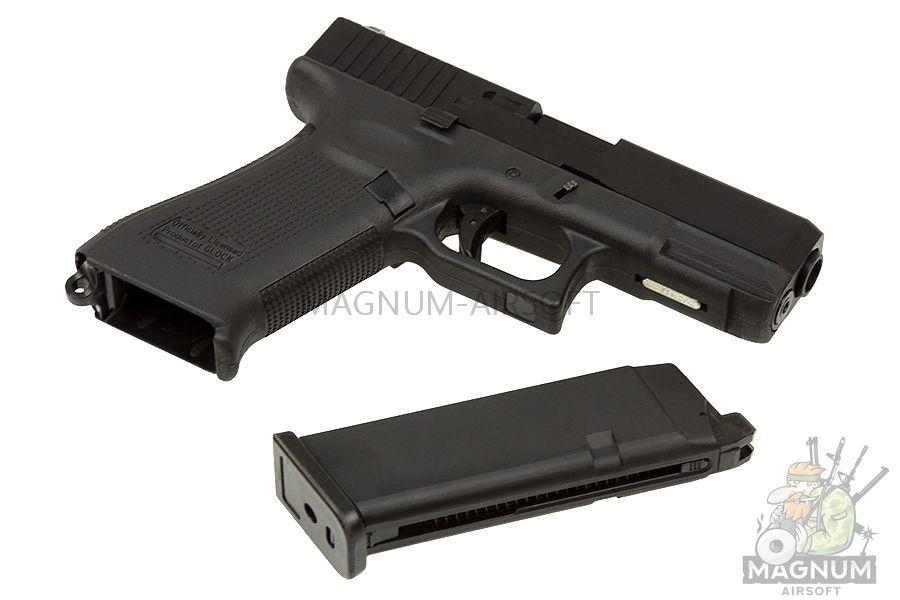 EC 1302 3 - Страйкбольный пистолет (East Crane) Glock-19X Black EC-1302