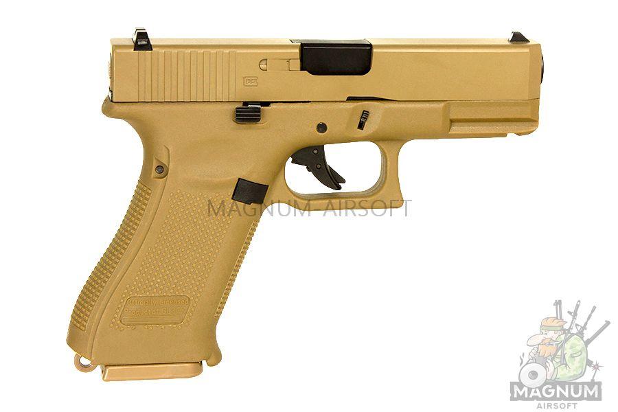 EC 1302 DE 1 - Страйкбольный пистолет (East Crane) Glock-19X TAN EC-1302-DE