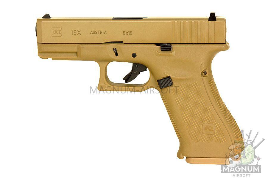EC 1302 DE 2 - Страйкбольный пистолет (East Crane) Glock-19X TAN EC-1302-DE