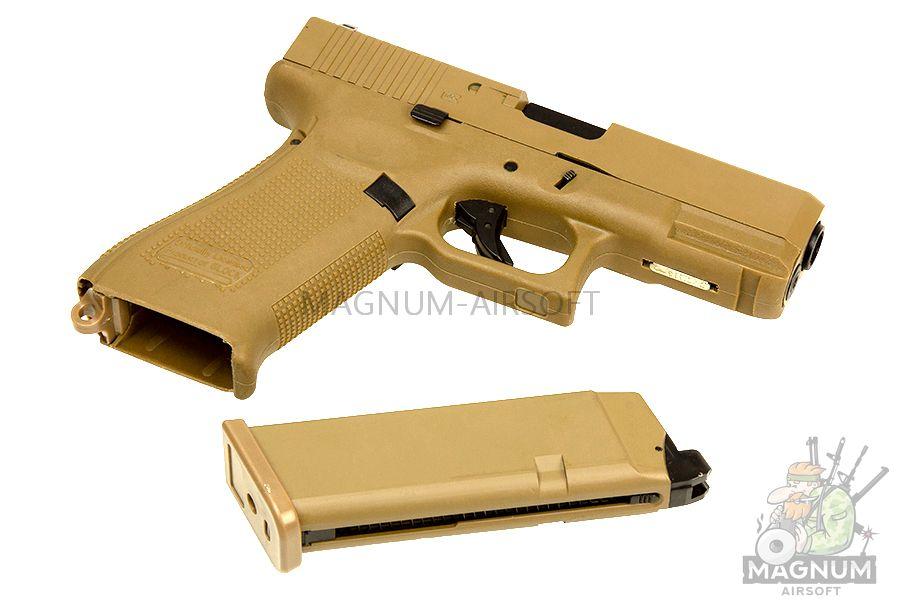 EC 1302 DE 3 - Страйкбольный пистолет (East Crane) Glock-19X TAN EC-1302-DE