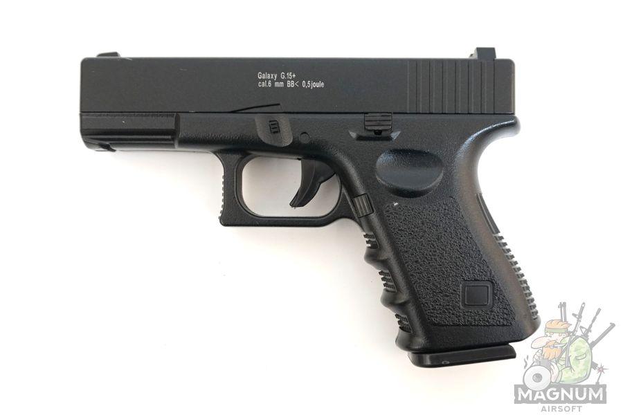 Glock17 s koburoj G.15 SPRING 3 - Пистолет Galaxy Glock17 с кобурой  G.15+  SPRING