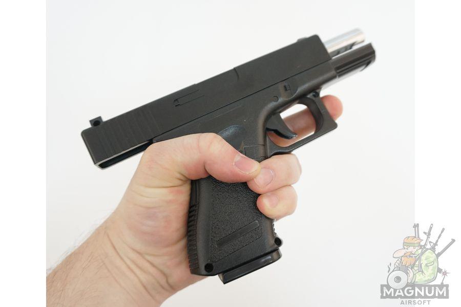 Glock17 s koburoj G.15 SPRING 4 - Пистолет Galaxy Glock17 с кобурой  G.15+  SPRING