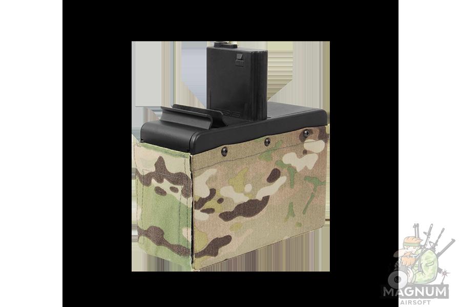 MAGAZIN GG CM16 LMG Box AEG 2500 sharov bunkernyj bez batarei G 08 173 - МАГАЗИН G&G CM16 LMG Box (AEG, 2500 шаров, бункерный, без батареи) G-08-173