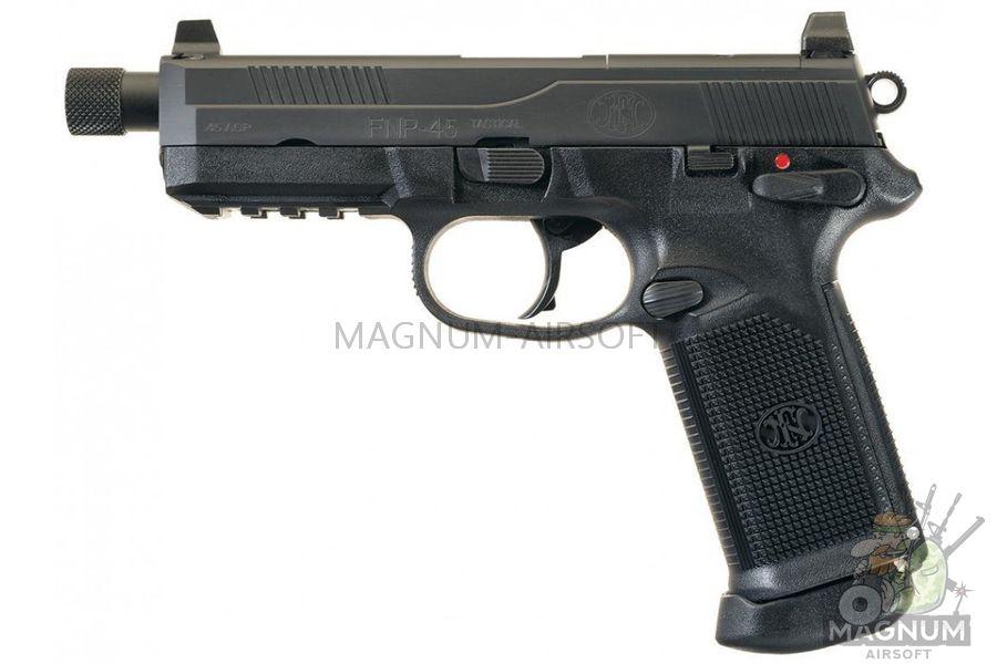 Pistolet TOKYO MARUI FNX 45 TACTICAL BLACK GBB plastik 4952839142993 1 - Пистолет TOKYO MARUI FNX-45 TACTICAL BLACK GBB, пластик 4952839142993
