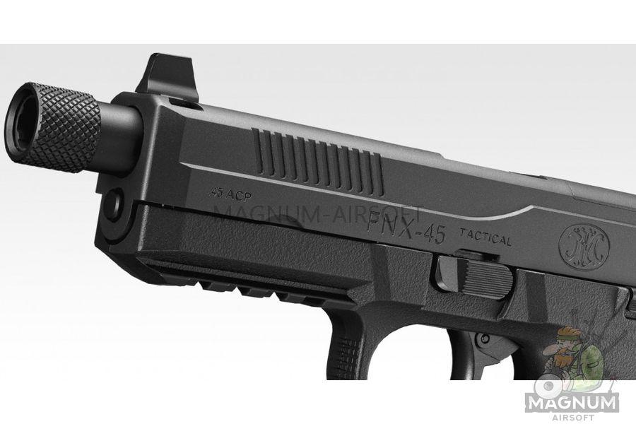 Pistolet TOKYO MARUI FNX 45 TACTICAL BLACK GBB plastik 4952839142993 2 - Пистолет TOKYO MARUI FNX-45 TACTICAL BLACK GBB, пластик 4952839142993