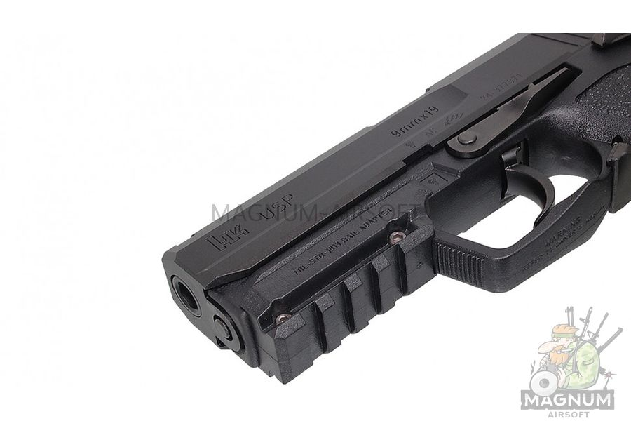 Pistolet TOKYO MARUI HK USP Full Size GBB plastik chernyj 4952839142832 3 - Пистолет TOKYO MARUI HK USP  (Full Size) GBB, пластик, черный, 4952839142832
