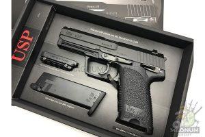 Pistolet TOKYO MARUI HK USP Full Size GBB plastik chernyj 4952839142832 4 300x200 - Пистолет TOKYO MARUI HK USP  (Full Size) GBB, пластик, черный, 4952839142832