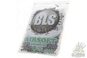SHariki BLS Precision Grade 042 300x200 - Шарики BLS Precision Grade 0,42 (1000шт, серые, пакет)