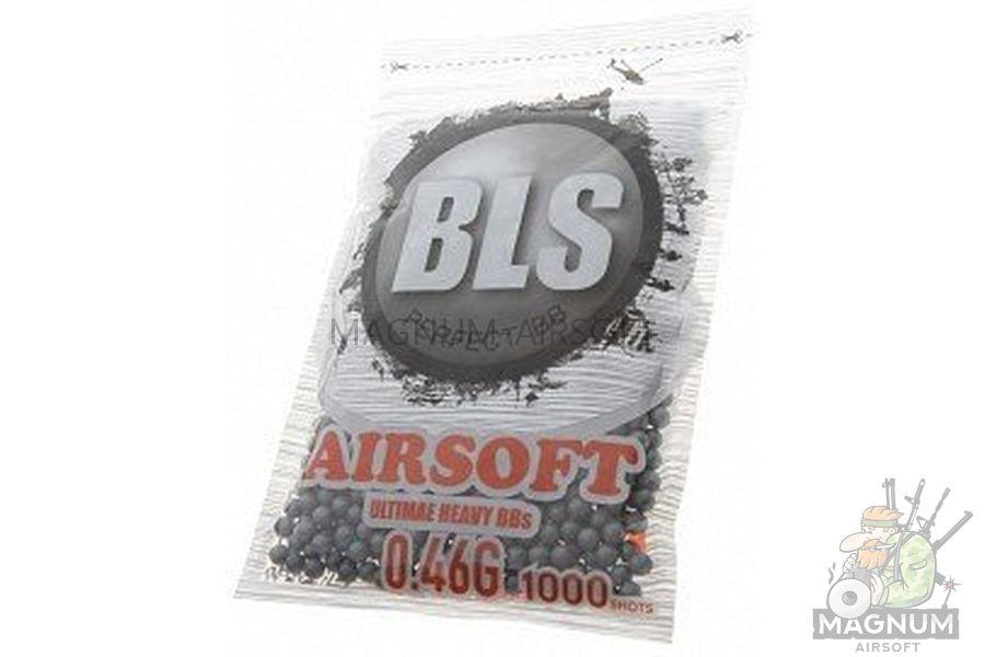 SHariki BLS Precision Grade 046 - Шарики BLS Precision Grade 0,46 (1000шт, серые, пакет)