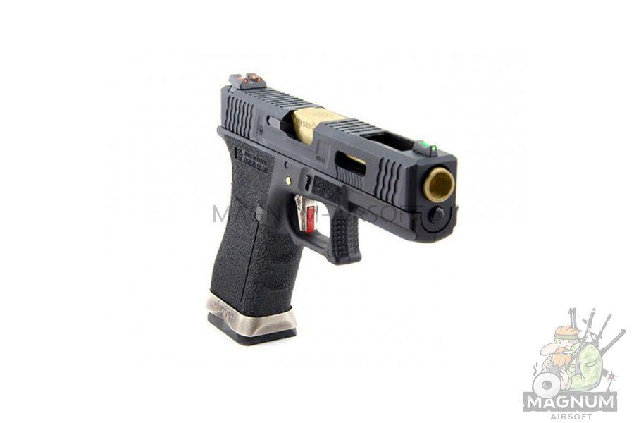 WE G002WET 1 2 - Пистолет WE GLOCK-18 G-Force (WE-G002WET-1)