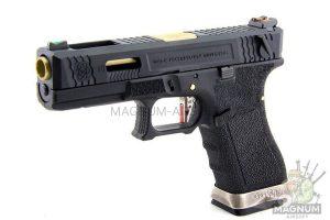 WE G002WET 1 300x200 - Пистолет WE GLOCK-18 G-Force (WE-G002WET-1)