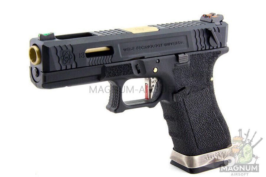WE G002WET 1 - Пистолет WE GLOCK-18 G-Force (WE-G002WET-1)