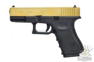 WE G003A TG 300x200 - Пистолет WE GLOCK-19 gen3 Titanium Version WE-G003A-TG