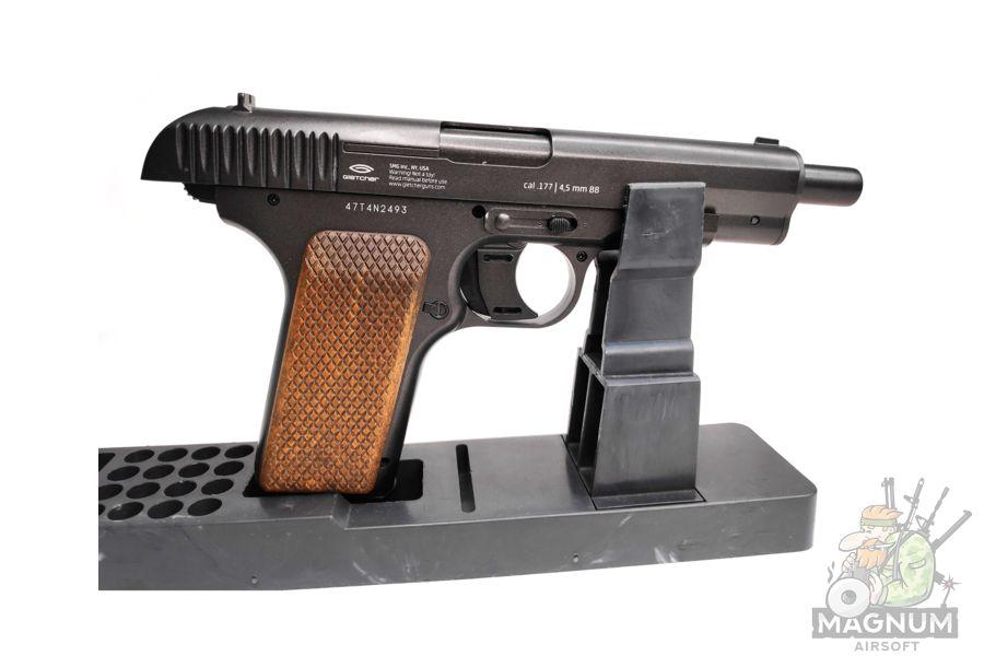 CO2 Gletcher TT NBB 5 - Пневматический пистолет CO2 Gletcher ТТ NBB к.4,5
