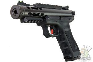 GUNT0925 1L 300x200 - WE G SERIES GALAXY GBB PISTOL - BLACK