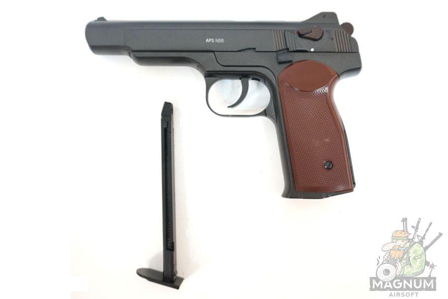 Gletcher APS NBB 3 - Пистолет пневматический Gletcher APS NBB к.4,5