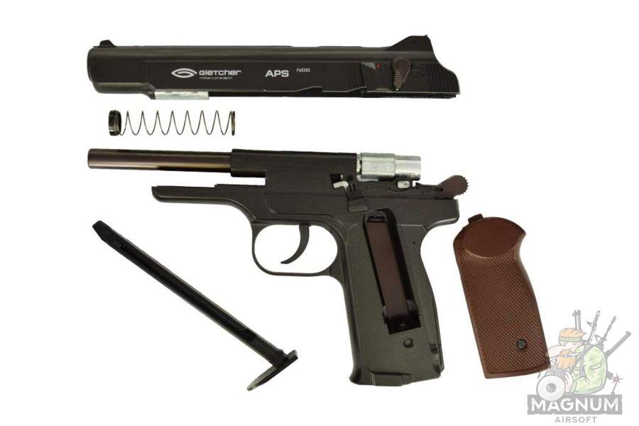 Gletcher APS NBB 4 - Пистолет пневматический Gletcher APS NBB к.4,5