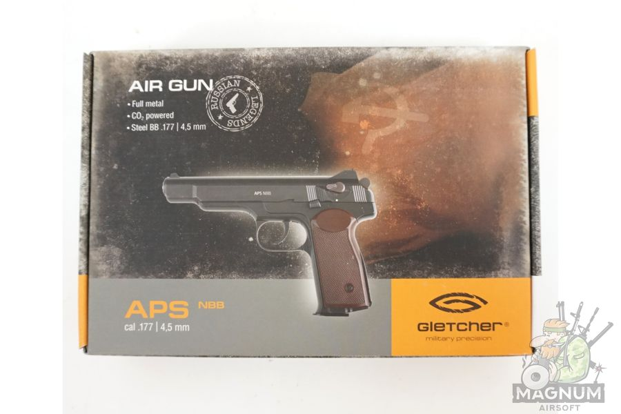 Gletcher APS NBB 5 - Пистолет пневматический Gletcher APS NBB к.4,5