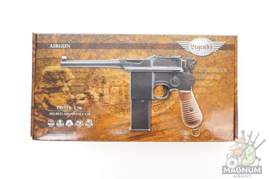 Umarex Legends C96 6 - Пневматический пистолет CO2 Umarex Legends C96 к.4,5