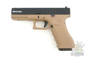 Pistolet KJW GLOCK G17 GBB GAS KP 17 MS TAN 1 300x200 - Пистолет KJW GLOCK G17 GBB GAS - KP-17-MS-TAN
