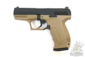 WE PX001 TAN 1 300x200 - Пистолет WE WALTHER P99 GBB WE-PX001 - TAN