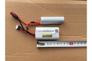 2h1 10.8li on3000 300x200 - Аккумулятор li-on  в анпек м4, приклад рпк,короб ПКМ  ,3000 mAh 10.8V  30С (силовой, для 120-180 м/c тюнингов)
