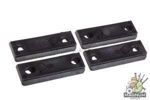 AABB 5-Slot Polymer Rail for KeyMod ( Black )