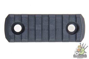 AABB M-LOK Nylon Picatinny Rail Sections 5 Slots - Urban Grey