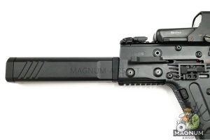 Angry Gun KSV Suppressor (8 inch) for Krytac KRISS VECTOR AEG - Dummy Version