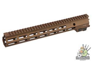 Angry Gun Aluminum MK16 M-Lok 13.5 inch Rail Airsoft Version for AEG/ GBB/ PTW (Sopmod Block III) -DDC