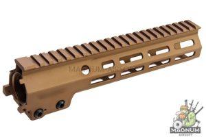 Angry Gun Aluminum MK16 M-Lok 9.3 inch Rail Airsoft Version for AEG/ GBB/ PTW (Sopmod Block III) - DDC