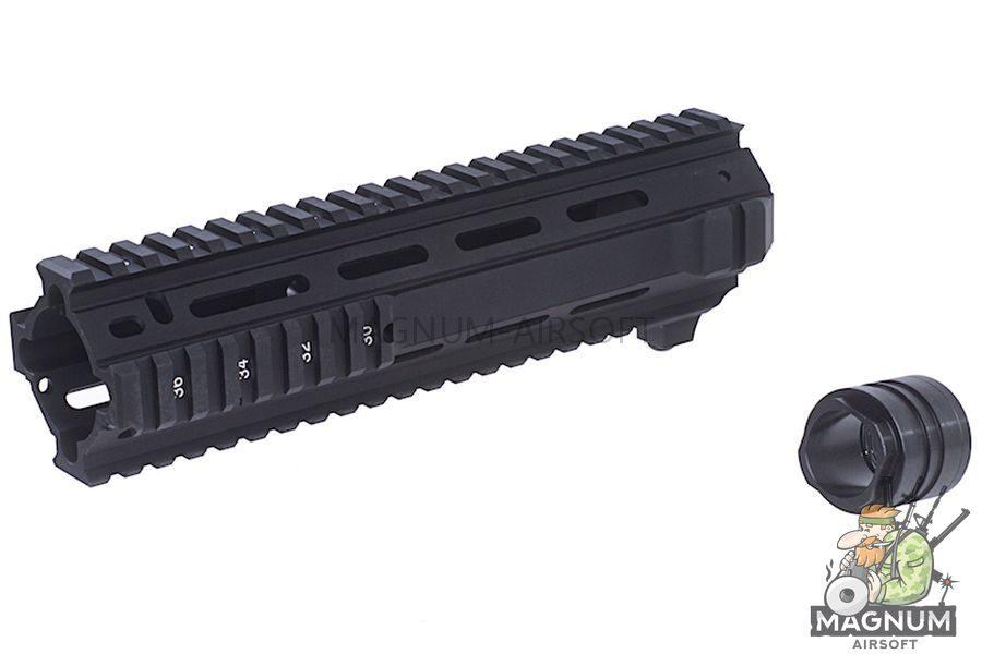 Angry Gun L119A2 Rail for M4 AEG / Systema PTW / WA / Inokatsu / VFC / WE / GHK M4 GBBR (Short)
