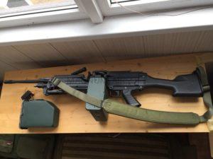 AK M249 1 300x225 - Пулемет A&K M249 MK2 Trade-in