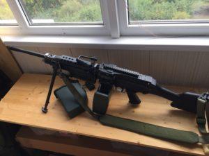AK M249 2 300x225 - Пулемет A&K M249 MK2 Trade-in