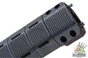 ARES M4 Handguard Set (DH-001 X 1 / DH-013 X 8 / DH-008 X 1 / DH-014 X 1) - L (BK)