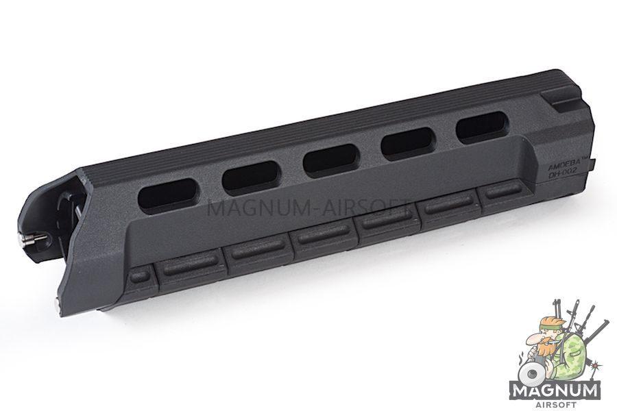 ARES M4 Handguard Set (DH-002 X 1 / DH-013 X 5 / DH-006 X 1 / DH-014 X 1) - M (BK)