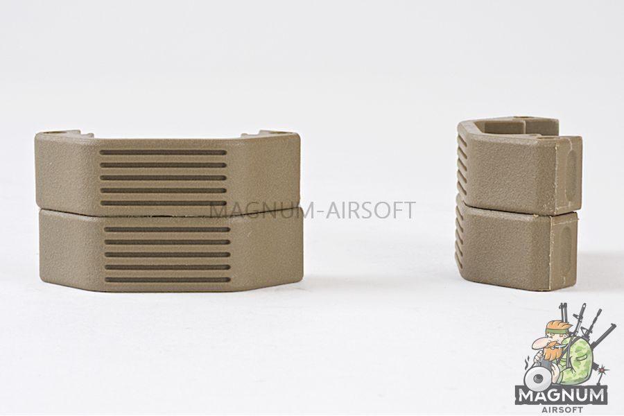 ARES M4 Handguard Half Unit (4pcs/set) - DE