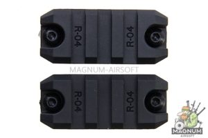 ARES Amoeba 2 inch Plastic Key Rail System for M-Lok System (2pcs / Pack)